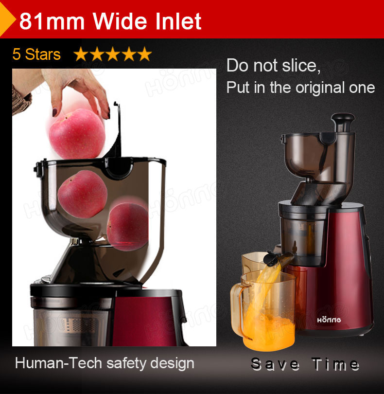 Slow Juicer Self Cleaning : SJ113 - Slow Juicer - Products - Honne Group Limited